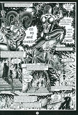 Dantovo Inferno - První peklo: Beran (V chřtánu moci)