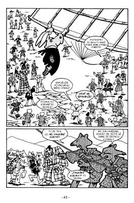 Usagi Yojimbo 05: Kozel samotář a dítě