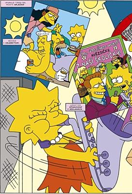 Simpsonovi: Komiksový nářez